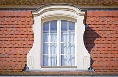 Ventana ornamental hermosa Imagen de archivo libre de regalías