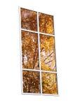 Ventana otoñal Imagen de archivo libre de regalías