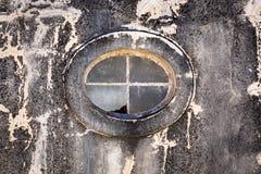 Ventana oval Foto de archivo libre de regalías