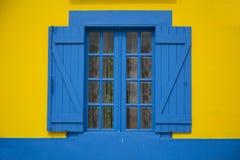 Ventana portuguesa tradicional fotos de archivo libres de regalías