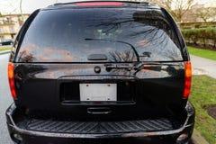Ventana posterior del coche fotografía de archivo libre de regalías
