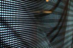 Ventana punteada negro de Iluminated imagen de archivo libre de regalías