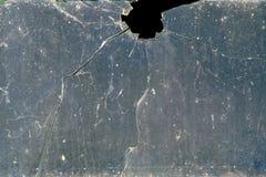 Ventana quebrada Fotografía de archivo
