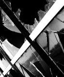Ventana quebrada Imagen de archivo