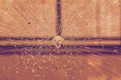 Ventana quebrada Foto de archivo