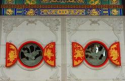 Ventana redonda Foto de archivo libre de regalías