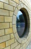 Ventana redonda Fotografía de archivo libre de regalías