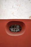 Ventana redondeada peculiar en Guanajuato México Fotos de archivo libres de regalías