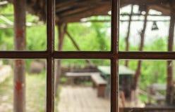 Ventana retra vieja Fotografía de archivo libre de regalías
