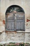 Ventana Shuttered Fotos de archivo libres de regalías