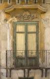 Ventana siclian vieja Fotos de archivo libres de regalías
