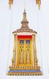 Ventana tailandesa hermosa del templo Fotografía de archivo libre de regalías