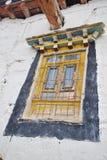 Ventana tibetana del estilo Fotos de archivo libres de regalías