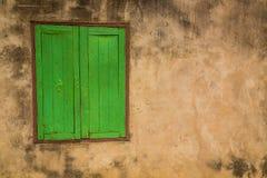 Ventana verde (vintage procesado imagen filtrado e Foto de archivo libre de regalías