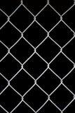 Ventana vertical de la red del alambre Fotografía de archivo