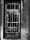 Ventana vieja foto de archivo