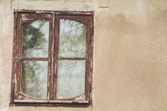 Ventana vieja Foto de archivo libre de regalías