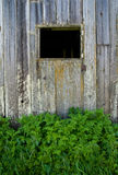 Ventana vieja del granero Foto de archivo