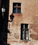 Ventana vieja, vendimia Foto de archivo