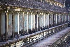 Ventana y luz del viaje de Angkor Wat Siem Reap Cambodia South el Este de Asia imagenes de archivo