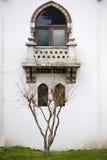 Ventana y terraza Imagenes de archivo