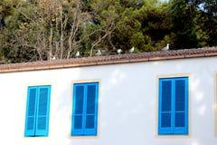 Ventanas azules Fotos de archivo libres de regalías