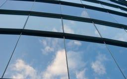 Ventanas de cristal Fotos de archivo libres de regalías