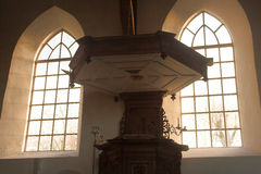 Ventanas de la iglesia imágenes de archivo libres de regalías
