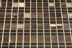 Ventanas de la oficina Fotos de archivo
