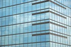 Ventanas de la oficina Imagen de archivo libre de regalías