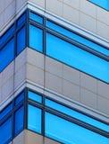 Ventanas de la oficina Fotografía de archivo libre de regalías
