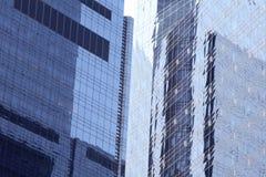 Ventanas de NYC Foto de archivo libre de regalías