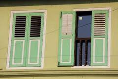Ventanas decorativas Imagen de archivo