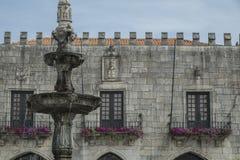 Ventanas del castillo Imagen de archivo libre de regalías