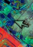 Ventanas del dinero Imagen de archivo libre de regalías