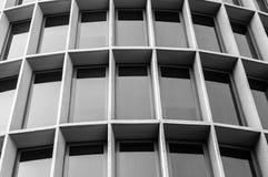 Ventanas del edificio de Offie Imagenes de archivo