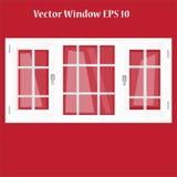 Ventanas del vector Fotografía de archivo