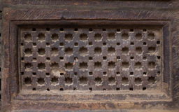 Ventanas esculpidas piedra Imágenes de archivo libres de regalías