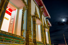 Ventanas hermosas del templo Imágenes de archivo libres de regalías