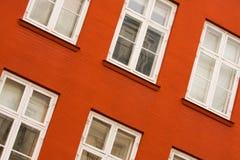 Ventanas inclinadas Imagen de archivo libre de regalías