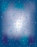 Ventanas lluviosas Imagen de archivo libre de regalías