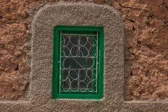 Ventanas marroquíes viejas de los berbers Imágenes de archivo libres de regalías