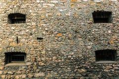 Ventanas medievales Fotos de archivo libres de regalías