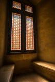 Ventanas medievales Foto de archivo libre de regalías