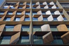 Ventanas modernas del edificio imagen de archivo libre de regalías