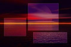 Ventanas rosadas Fotos de archivo libres de regalías