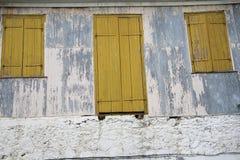 Ventanas viejas Fotografía de archivo