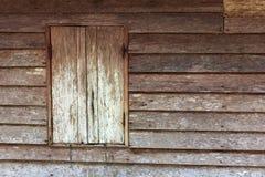 Ventanas viejas de madera viejas Imágenes de archivo libres de regalías
