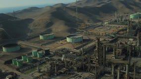 Ventanilla Peru Aerial stock footage