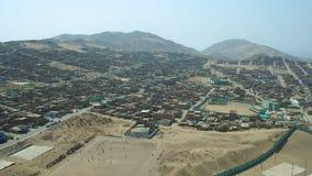 Ventanilla Peru Aerial stock video footage
